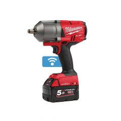 Milwaukee M18 ONEFHIWF12-502X FUEL ONE-KEY 1/2in Impact Wrench 18V 2 x 5.0Ah Li-ion - MILM18OFWF12