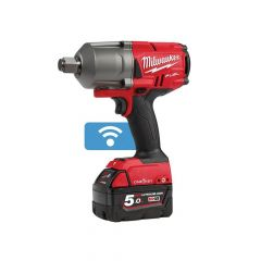 Milwaukee M18 ONEFHIWF34-502X FUEL ONE-KEY 3/4in Impact Wrench 18V 2 x 5.0Ah Li-ion - MILM18OFWF34