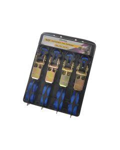 Master Lock Ratchet Strap 3m Blu 4 Piece - MLK3156