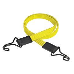 Master Lock Flat Bungee 100cm Yellow Double Hook - MLK3226E