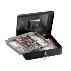 Master Lock Medium Cash Box with Keyed Lock - MLKCB12ML
