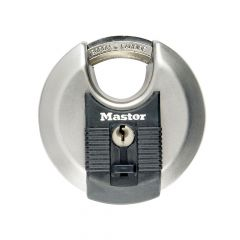 Master Lock Excell Stainless Steel Discus 70mm Padlock - MLKM40