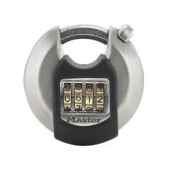 Master Lock Excell Discus 4-Digit Combination 70mm Padlock - MLKM40NUM