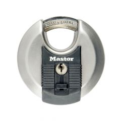 Master Lock Excell Stainless Steel Discus 80mm Padlock - MLKM50