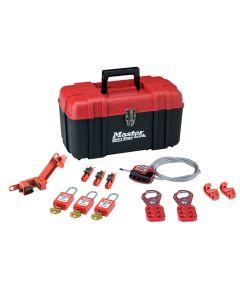 Master Lock Lockout Toolbox Electrical Kit 12-Piece - MLKS1117KA