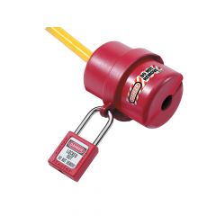 Master Lock Lockout Electrical Plug Cover, Small for 120V - 240V - MLKS487