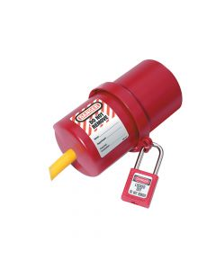 Master Lock Lockout Electrical Plug Cover, Large for 240V - 550V - MLKS488