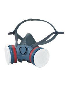 Moldex Ultra Light Series 7000 Half Face Mask (Medium) 2 x A2P3 R Filters - MOL723202