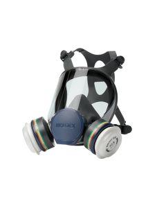 Moldex Ultra Light Comfort Series 9000 Full Face Mask (Medium) 2 x ABEK1P3 R Filters - MOL943201