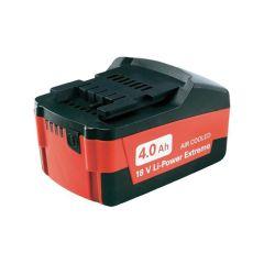 Metabo Slide Battery Pack 18V 4.0Ah Li-Ion - MPT625527000