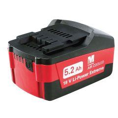 Metabo Slide Battery Pack 18V 5.2Ah Li-Ion - MPT625587000