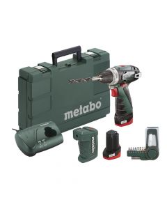 Metabo PowerMaxx BS Basic Screwdriver Set 10.8V 2 x 2.0Ah Li-ion - MPTPMAXKIT