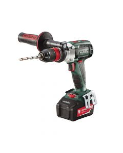 Metabo SB18 LTX Cordless Brushless Q/Impulse Combi Drill 18V 2 x 5.2Ah Li-Ion - MPTSB18LTX5B