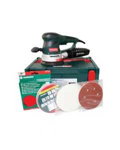Metabo SXE-450 Variable Speed Dual Orbit Sander Pro Pack 150mm 350W 110V - MPTSXE450PPL