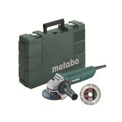 Metabo W750-115 Mini Grinder with Carry Case 115mm 750W 110V - MPTW750DL