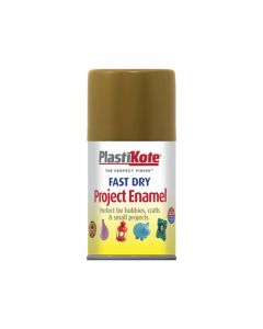 PlastiKote Fast Dry Enamel Aerosol Antique Gold 100ml - PKT143S