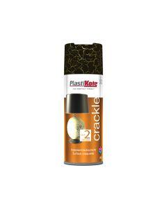 PlastiKote Crackle Touch Spray Black 400ml - PKT495