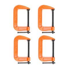 """Pony Jorgensen 4"""" C-Clamp Quad Pack"""