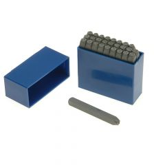 Priory 2.0mm Set of Letter Punches 5/6 in - PRIL564