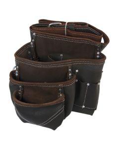 PTI Oil Tan Nail Bag With Belt - PTI0165