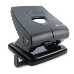 Rapesco 827-P 2-Hole Punch (30 Sheets) (black) - PF827PB2