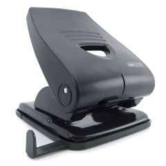 Rapesco 835-P 2-Hole Punch (40 Sheets) (black) - PF835PB2