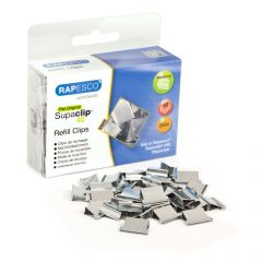 Rapesco Supaclip #40 Stainless Steel Refill Clips - CP20040S