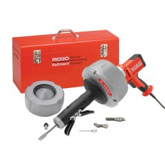 RIDGID K45-AF5 Drain Cleaning Gun with All Tooling - RID37343