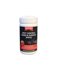 Rentokil Pest Control Hand & Surface Wipes - RKLFPW44