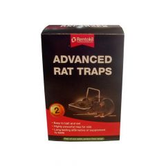 Rentokil Advanced Rat Trap Twin Pack - RKLFR51