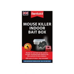 Rentokil Mouse Killer Indoor Bait Box - RKLPSM81