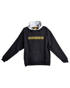 Roughneck Black & Grey Hooded Sweatshirt - XXL (50-52in) - RNKHOODYXXL