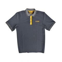 Roughneck Grey Polo Shirt - M (39-41in) - RNKPOLOGYM