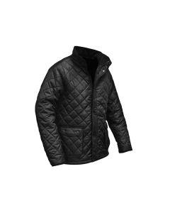 Roughneck Black Quilted Jacket - M (41in) - RNKQUILTM