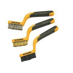 Roughneck Narrow Brush Set, 3 Piece - ROU52010