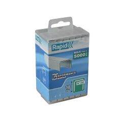 Rapid 10mm Galvanised Staples Poly Pack 5000 - RPD14010PP