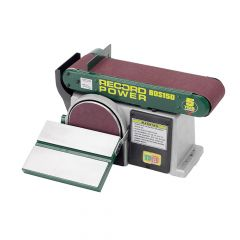 Record Power Belt Disc Sander 152 x 101mm (6 x 4in) - RPTBDS150