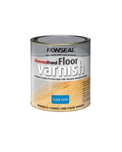 Ronseal Diamond Hard Floor Varnish Satin 5 Litre - RSLDHFVS5L