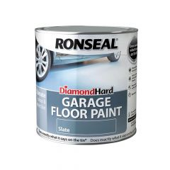Ronseal Diamond Hard Perfect Finish Floor Paint White 2.5 Litre - RSLDHPFFPW25