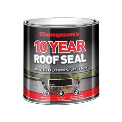 Ronseal Thompson's Roof Seal Black 4 Litre - RSLHPRSBL4L