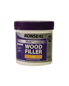Ronseal Multi Purpose Wood Filler Tub Light 465g - RSLMPWFL465