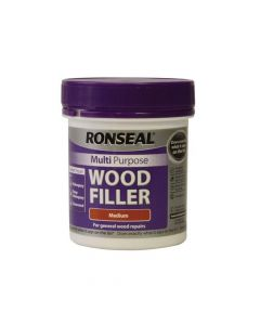 Ronseal Multi Purpose Wood Filler Tub Medium 250g - RSLMPWFM250G