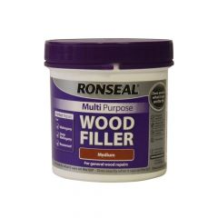 Ronseal Multi Purpose Wood Filler Tub Medium 465g - RSLMPWFM465