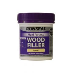 Ronseal Multi Purpose Wood Filler Tub Natural 250g - RSLMPWFN250G