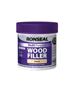 Ronseal Multi Purpose Wood Filler Tub Natural 465g - RSLMPWFN465