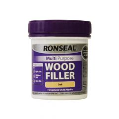 Ronseal Multi Purpose Wood Filler Tub Oak 250g - RSLMPWFO250G