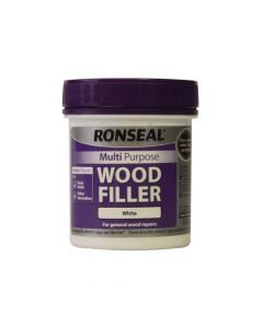 Ronseal Multi Purpose Wood Filler Tub White 250g - RSLMPWFW250G