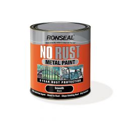 Ronseal No Rust Metal Paint Smooth White 2.5 Litre - RSLNRSMWH25L