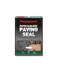 Ronseal Patio & Block Paving Seal Natural 5 Litre - RSLPBPSN5L