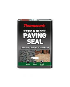 Ronseal Patio & Block Paving Seal Wet Look 5 Litre - RSLPBPSWL5L